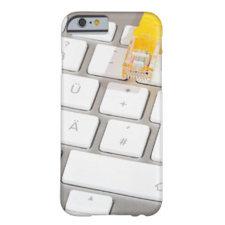 Silver computer keyboard with Network Cable Barely There iPhone 6 Case