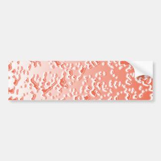 Silver Cream Sparkling Templates -  Redrose Bumper Sticker