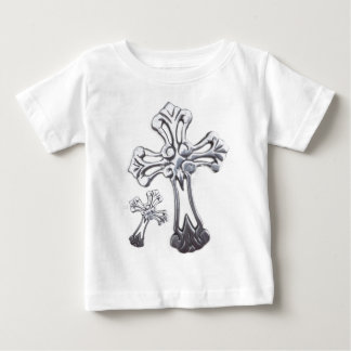 silver crosses t shirts