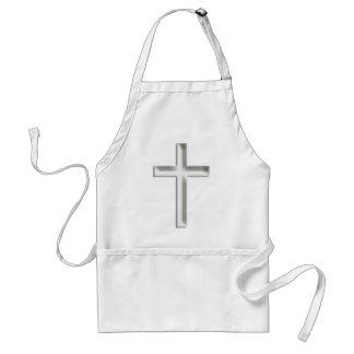 Silver Crucifix Aprons