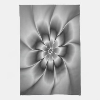 Silver Daisy Towels