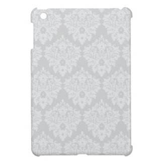 Silver Damask Cover For The iPad Mini
