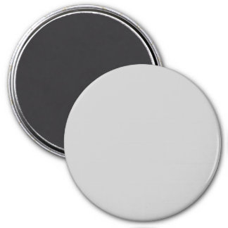 Silver Dandelion in an English Country Garden 3 Inch Round Magnet