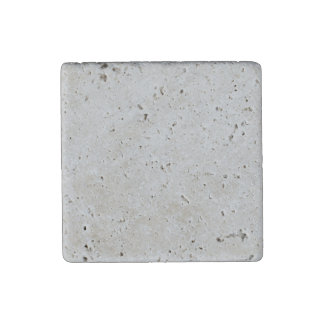 Silver Dandelion in an English Country Garden Stone Magnet