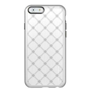 Silver Diamond Pattern Incipio Feather® Shine iPhone 6 Case