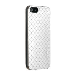 Silver Diamond Pattern Incipio Feather® Shine iPhone 5 Case