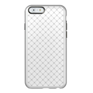 Silver Diamond Pattern Incipio Feather® Shine iPhone 6 Case