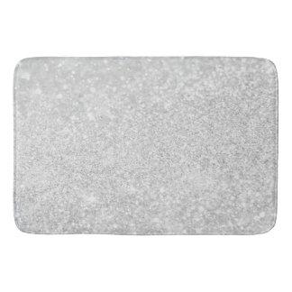 Silver Diamond Style Bath Mat