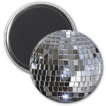 Silver Disco Ball Magnets
