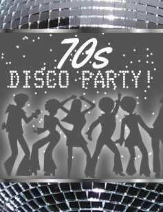 70s party invitations announcements zazzle uk