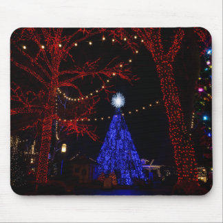 Silver Dollar City Christmas Mouse Pad