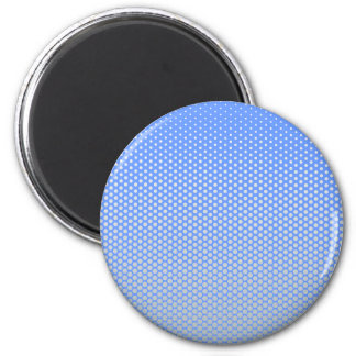 Silver dots on ANY color custom button Magnet