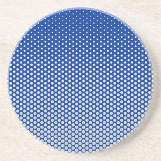 Silver dots on ANY color custom coaster