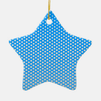 Silver dots on ANY color custom ornament