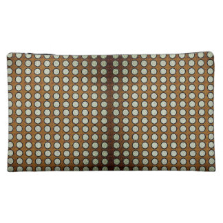 Silver-Dotted-Palace-Wood(c) Gilted*-Gold & Silver Makeup Bag