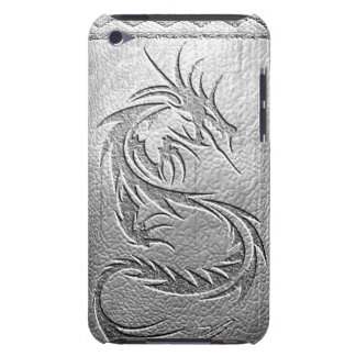 silver dragon barely there iPod covers