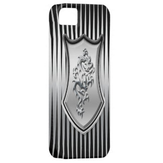 Silver Dragon iPhone 5 Cover
