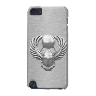 Silver Egyptian Scarab iPod Touch 5G Covers