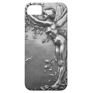 Silver Fairy Antique Art Nouveau Vintage Jewelry iPhone 5 Covers