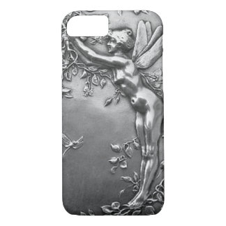 Silver Fairy Antique Art Nouveau Vintage Jewelry iPhone 8/7 Case