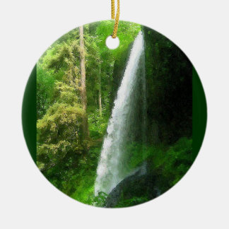 Silver Falls Christmas Ornament
