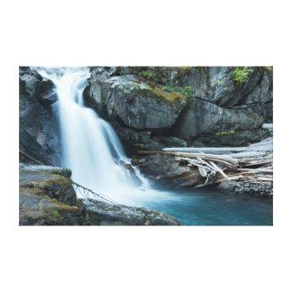 Silver Falls, Mount Rainier National Park Canvas Print