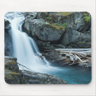 Silver Falls, Mount Rainier National Park Mouse Pad