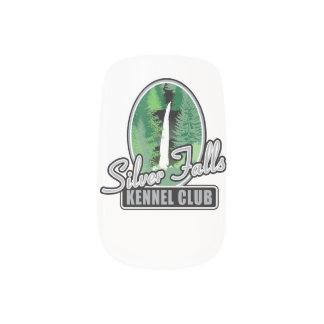 Silver Falls Nails Sticker