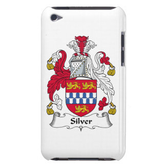 Silver Family Crest iPod Touch Case