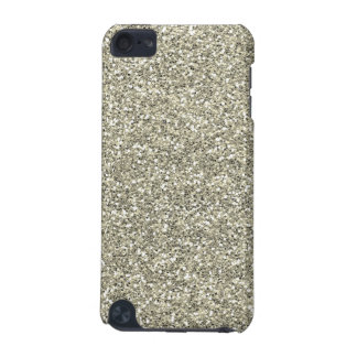 Silver Faux Glitter iPod Touch 5G Cover