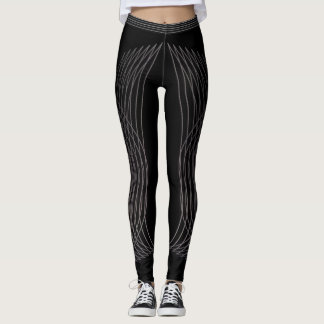 SILVER FEATHERS LEGGINGS