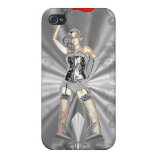 Silver female iPhone 4/4S covers