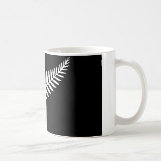 Silver Fern Flag (New Zealand) Coffee Mug