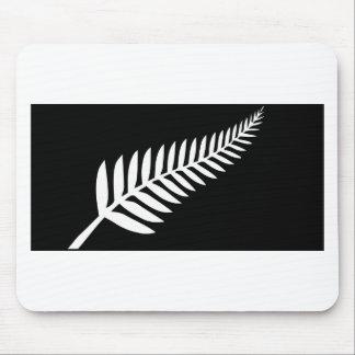 Silver Fern Flag (New Zealand) Mouse Mat
