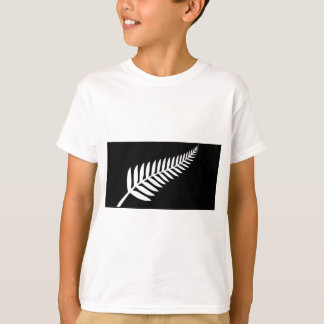 Silver Fern Flag (New Zealand) T-Shirt