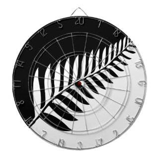 Silver Fern of New Zealand Dartboard