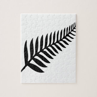 Silver Fern of New Zealand Jigsaw Puzzle