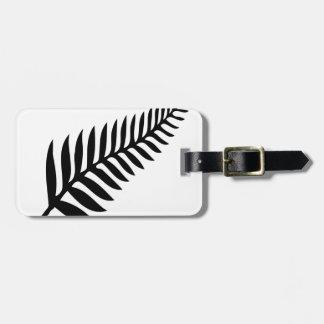 Silver Fern of New Zealand Luggage Tag