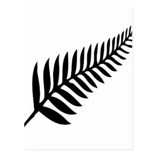 Silver Fern of New Zealand Postcard