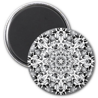 Silver Flame Magnet