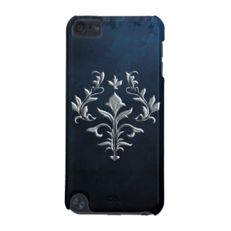 SILVER FLOUISH iPod TOUCH (5TH GENERATION) COVER