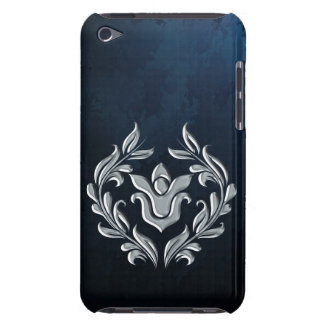 SILVER FLOUISH BARELY THERE iPod COVER