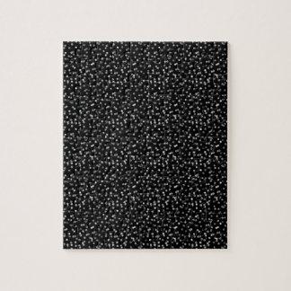Silver Foil Confetti Jigsaw Puzzle