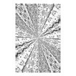 Silver Foil Swirl Stationery