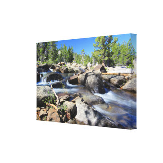 Silver Fork of the American River, Canvas Canvas Print