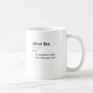SILVER FOX BASIC WHITE MUG