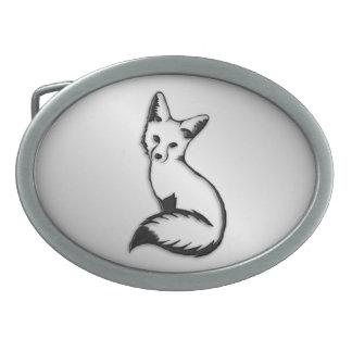 Silver Fox Belt Buckles