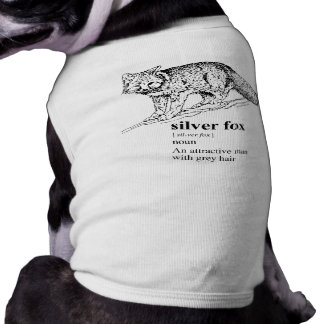 SILVER FOX PET TEE