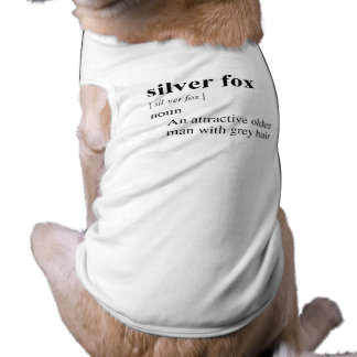 SILVER FOX PET TSHIRT