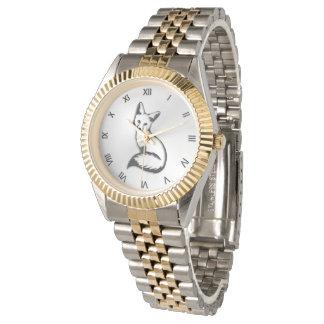 Silver Fox Roman Numerals Watch